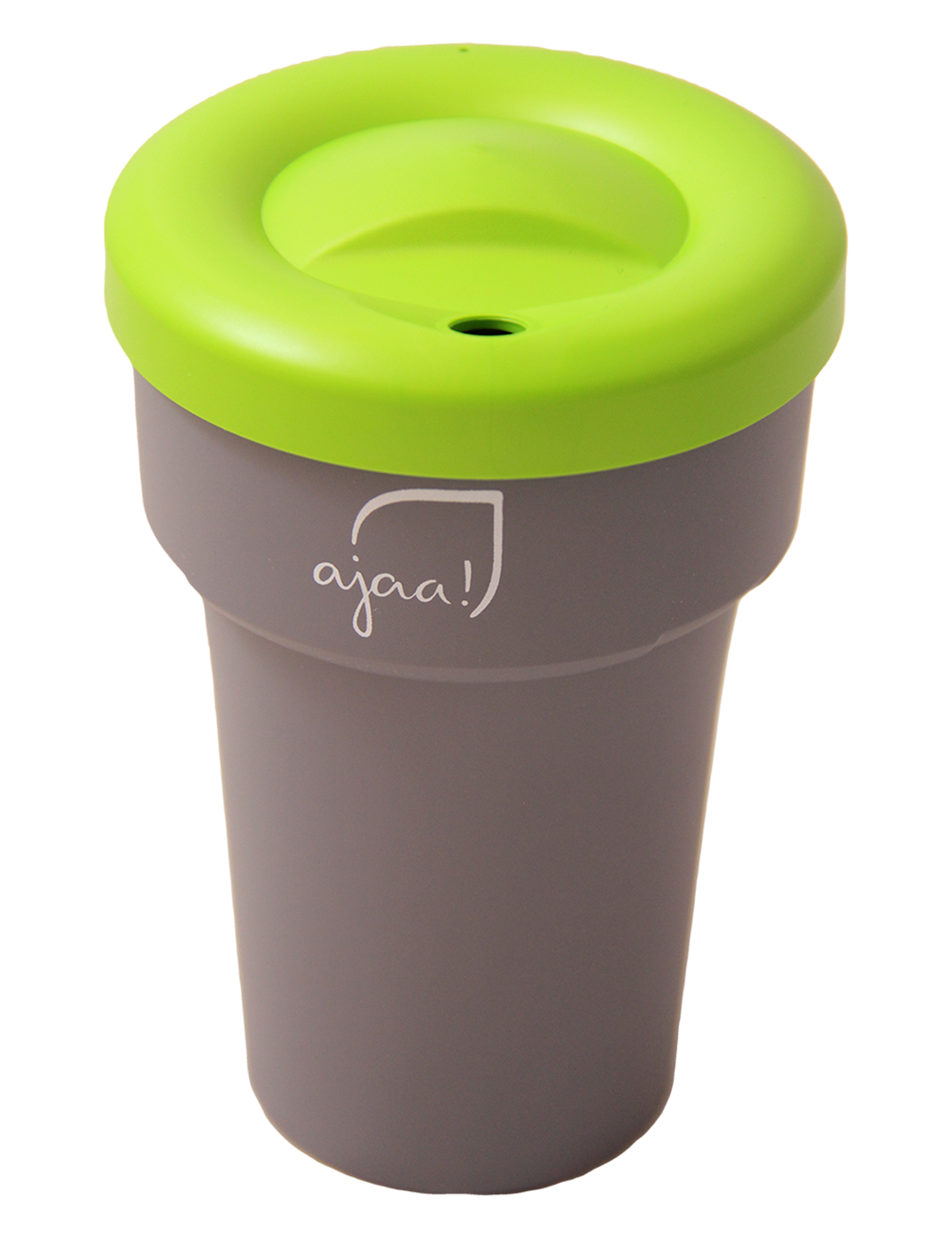 ajaa! Cup 400ml - cool gray mit Deckel